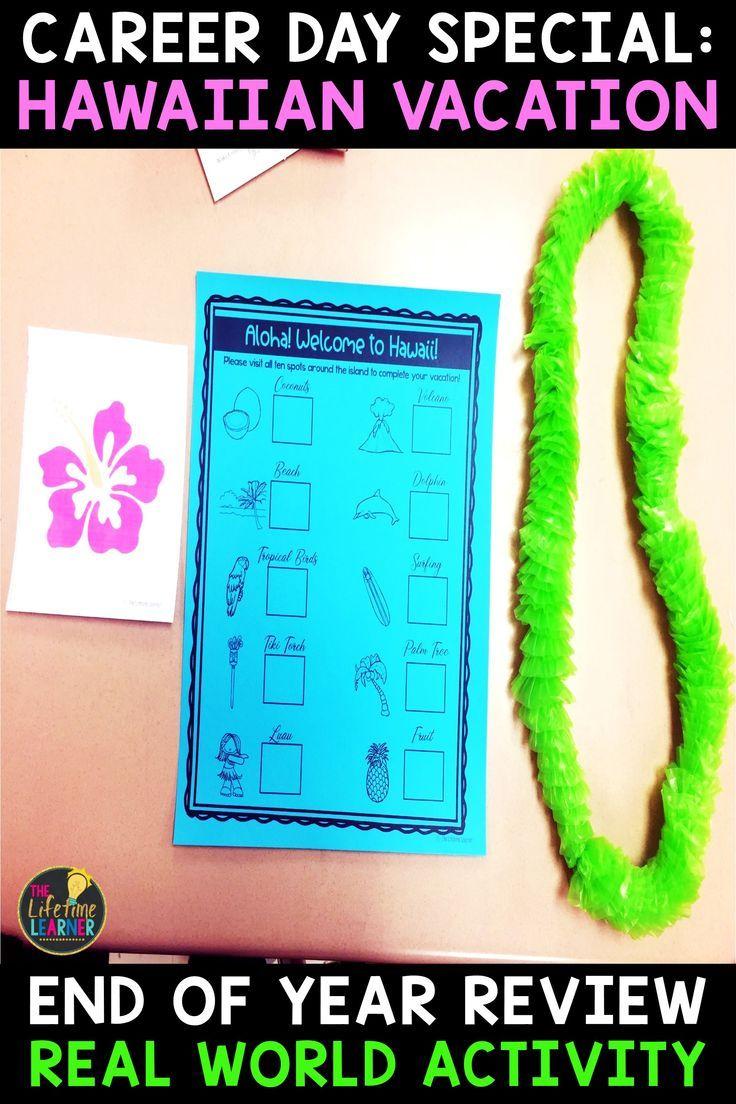 Math Year End Test Prep - Hawaii Real World Math Activity | Pinterest