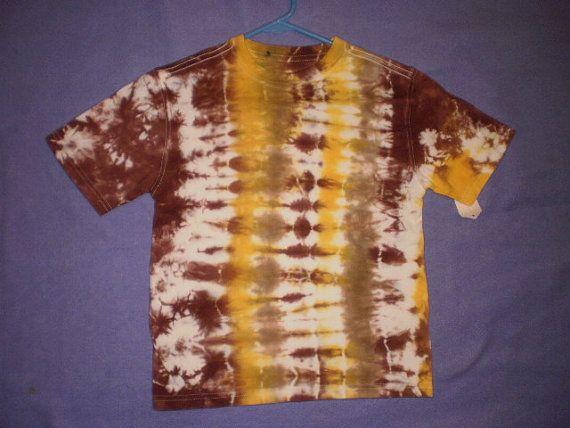 Nature tone tie dye by NereidasNiftyThreads on Etsy, $6.00