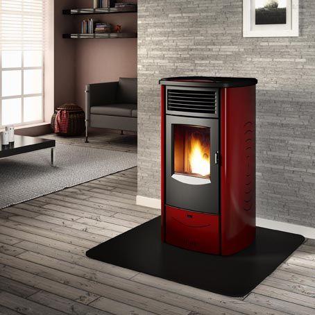 Piazzetta Monia | Pellet stove, Pellet heater, Pellet ...