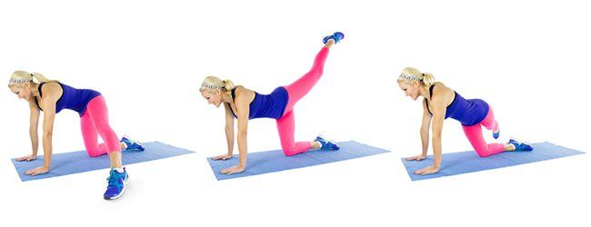 Pin on glutes exercises
