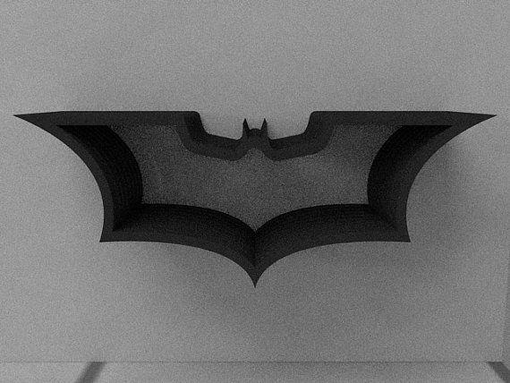 Batman Bookcase On Etsy