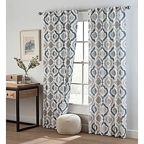 The Cambree Ogee Window Curtain Brings Trendy And Modern Style To