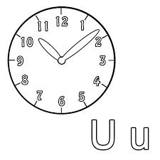 Bildergebnis Fur Uhr Zeichnung Malen Ausmalen Ausmalbild Uhr