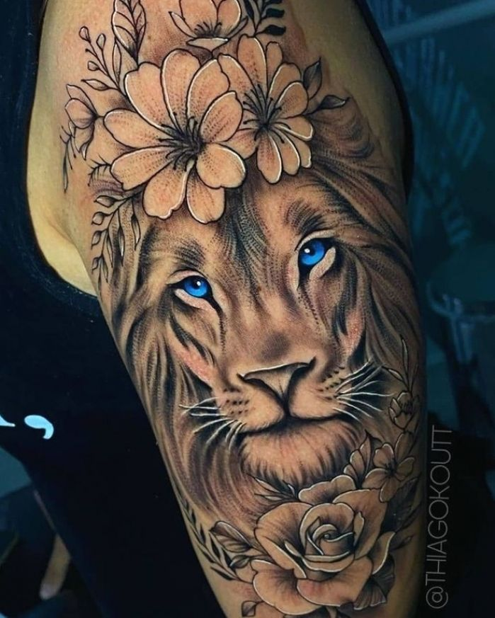 Photo of Lion Tattoo   Tattoo Ideas and Inspiration in 2020   Body …