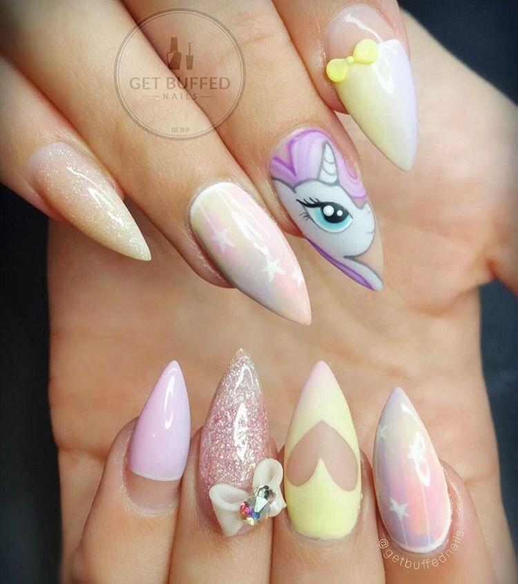 Getbuffednails | Ongle cartoon | Pinterest | Diseños de uñas, Uñas ...