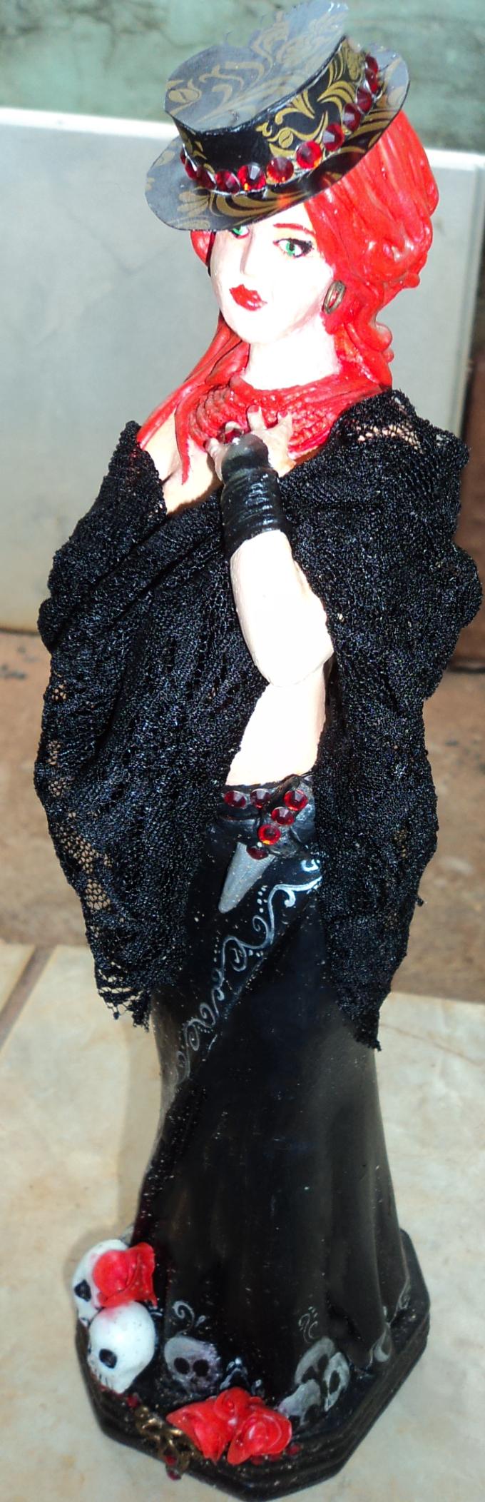 Estátua em Gesso   #pombogira #pombagira #mariaquitéria #povodarua #guardiao #umbanda