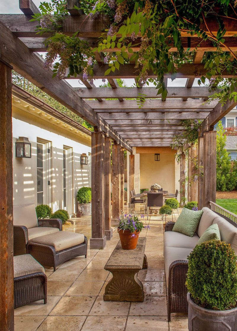 Let S Eat Out 45 Outdoor Kitchen And Patio Design Ideas Patio Design Outdoor Rooms Pergola
