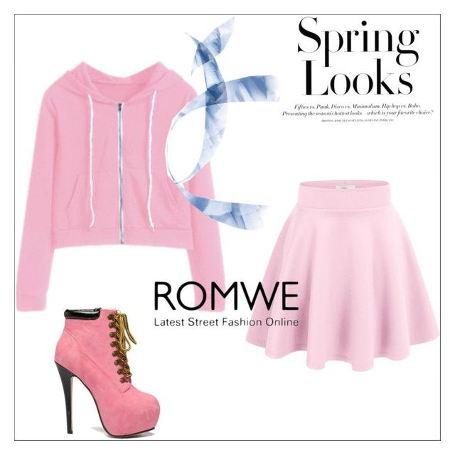 """""""Pink"""" by amina-33 ❤ liked on Polyvore featuring H&M, men's fashion and menswear"""