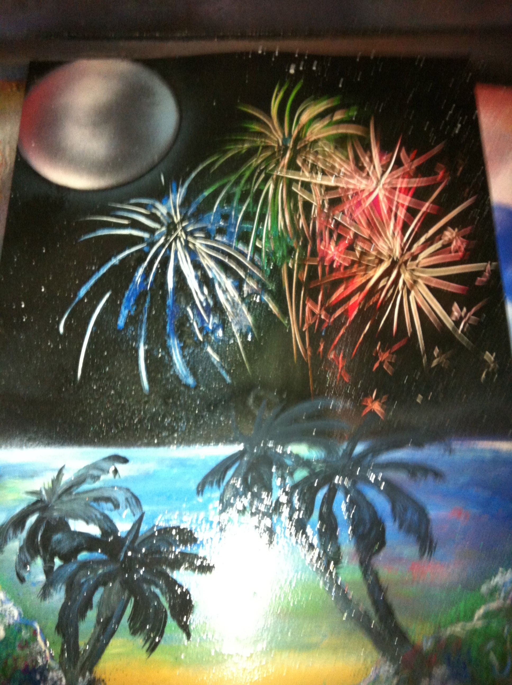 Creative Spray Paint Ideas Part - 36: Spray Paint Art, See My FB Page For Info On How To Obtain It
