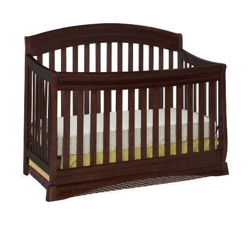 Delta Children S Products Silverton 4 In 1 Crib Black Cherry Espresso By Delta Children S Products Http Www Ama Cribs 4 In 1 Crib Convertible Crib Espresso