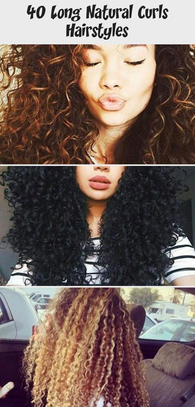 40 Long Natural Curly Hairstyles Best Hairstyles 13jun2019thursday You Are Not Alone 40 Long Natural Curls Ha In 2020 Locken Frisuren Coole Frisuren Naturlocken