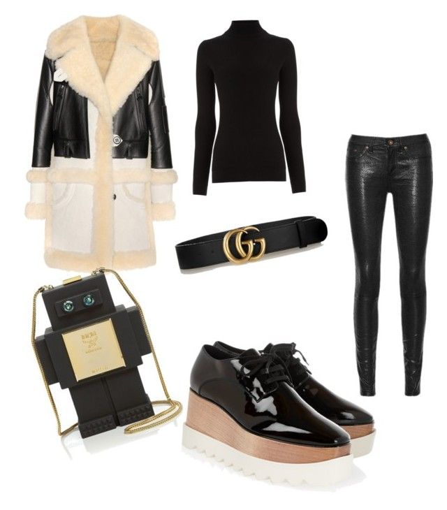 Untitled #90 by whatscooljay on Polyvore featuring polyvore, fashion, style, Warehouse, Coach, rag & bone/JEAN, STELLA McCARTNEY, Gucci, MCM and clothing