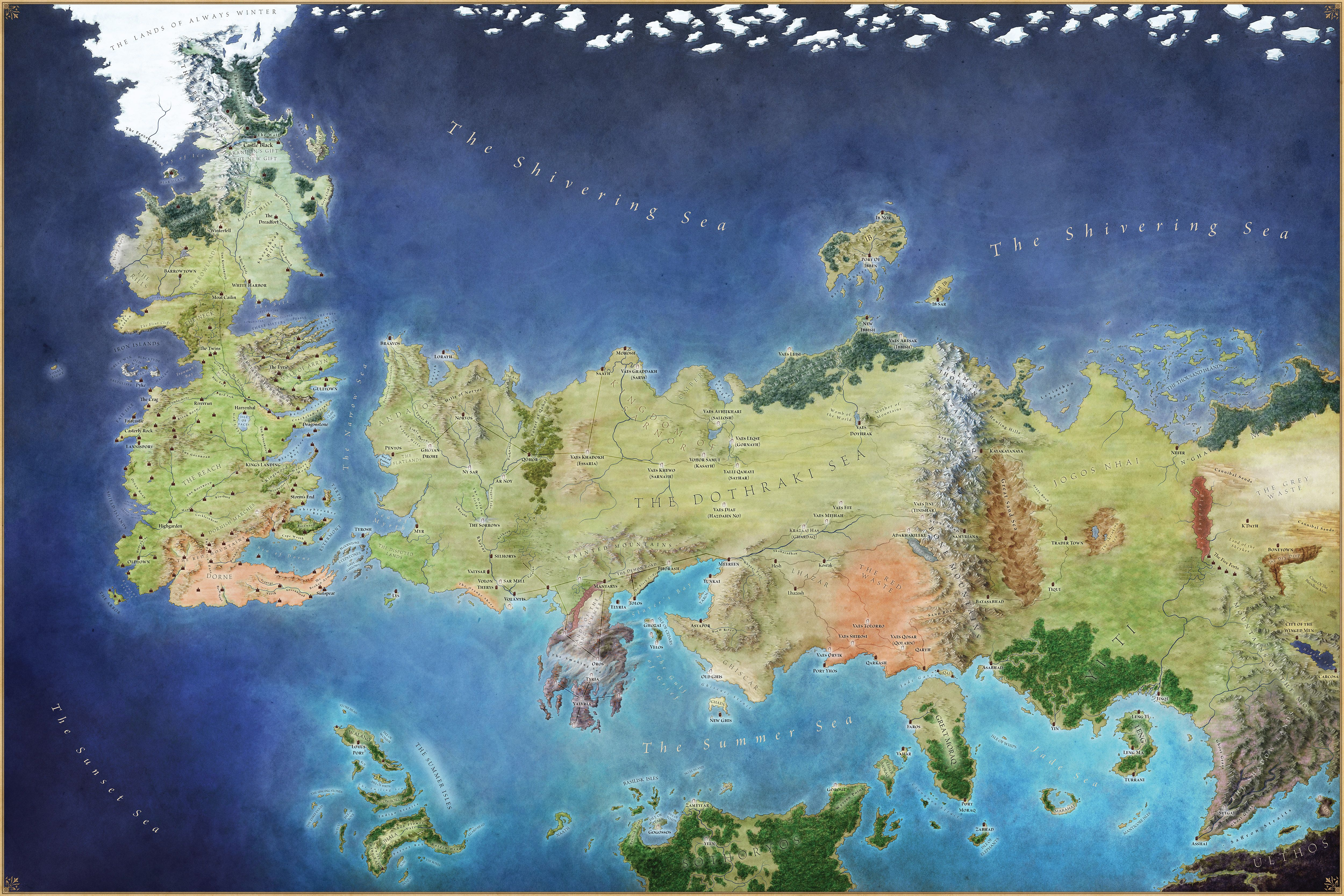 ASOIAF/GoT Map of the known world... open in new tab for