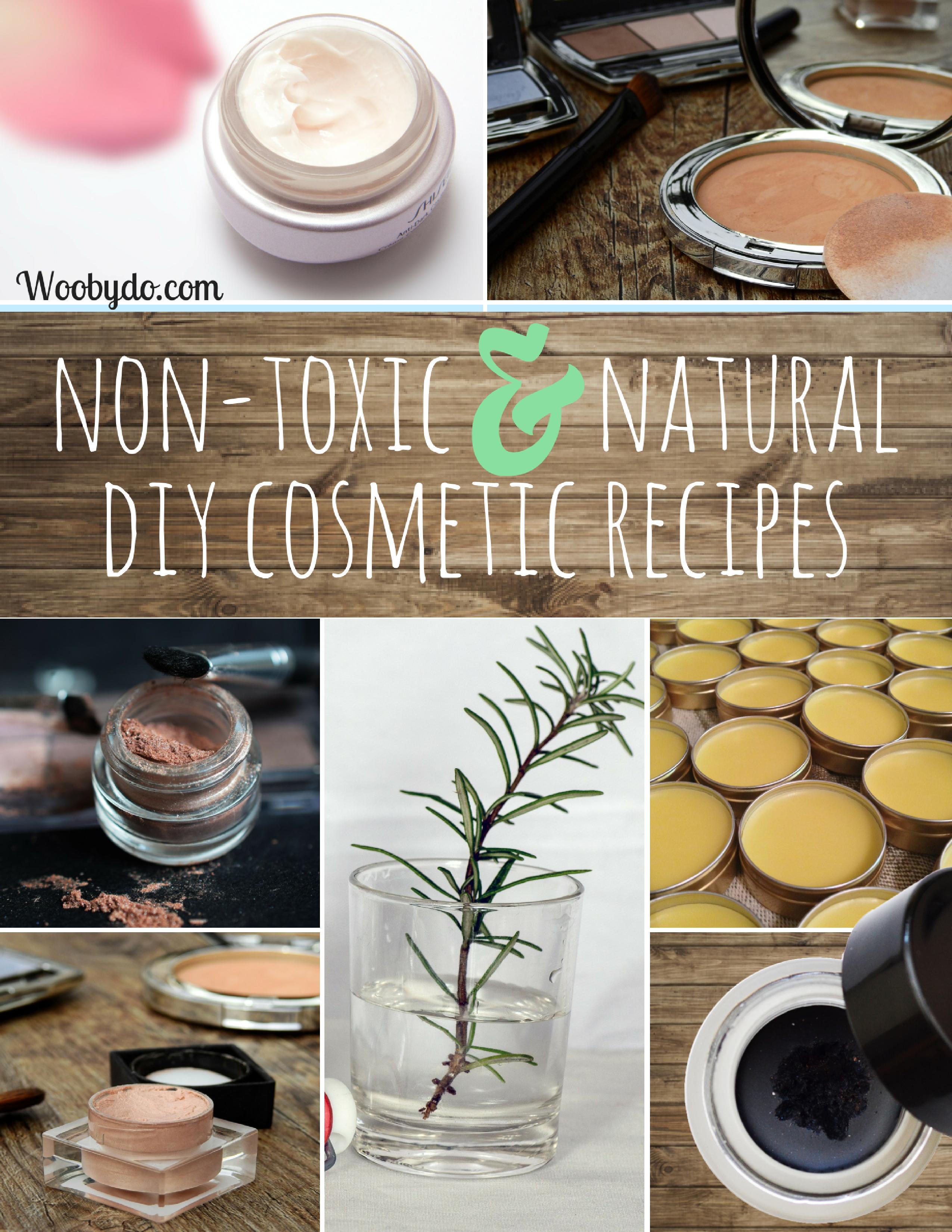 nontoxic natural diy chemicalfree cosmetic recipes