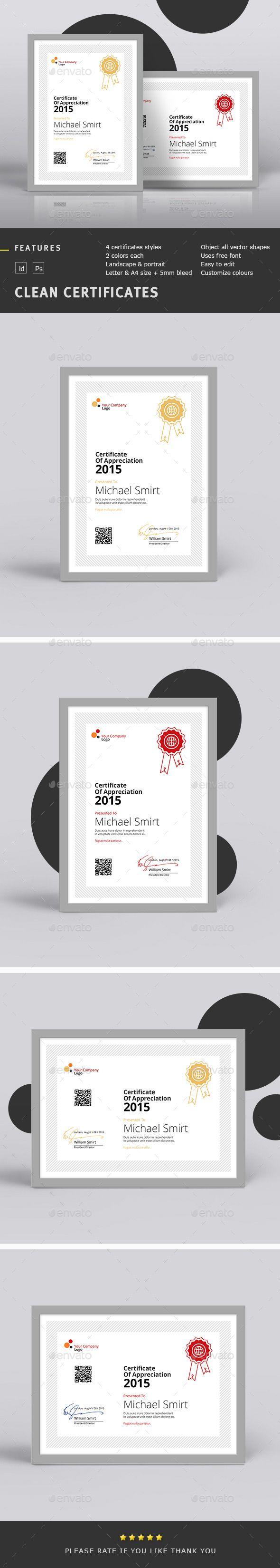 Clean Certificates | Urkunden und Zertifikat