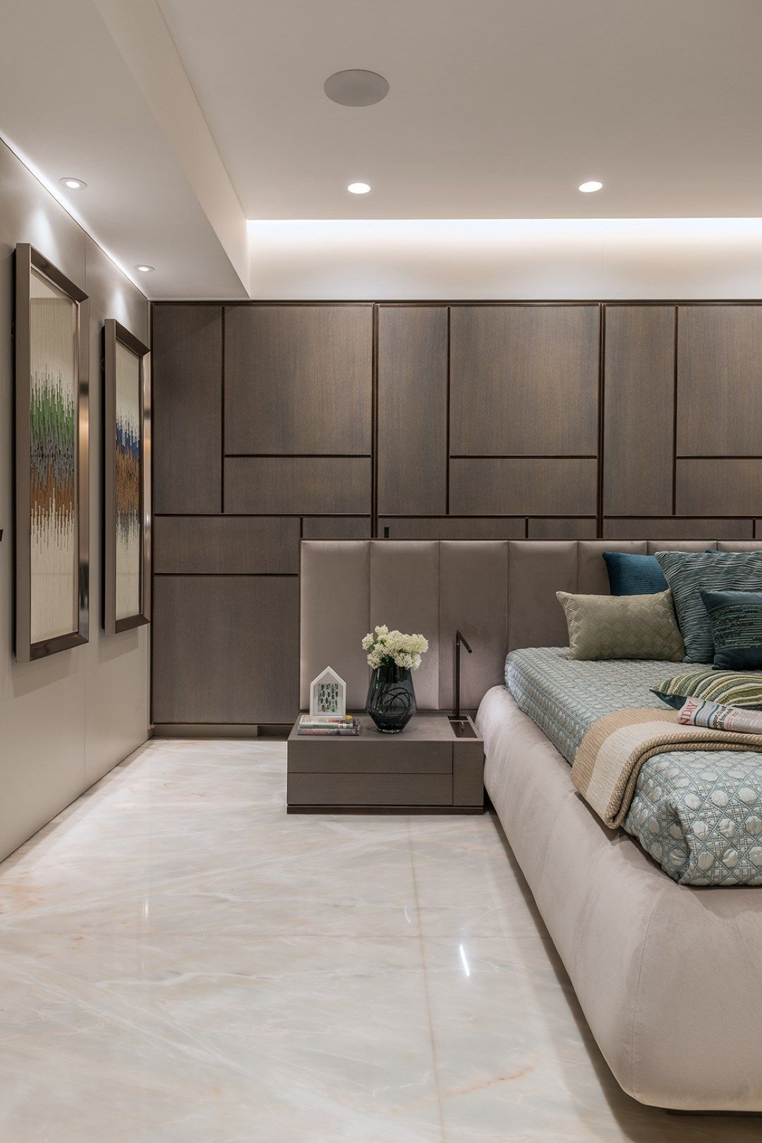 Simple Yet Luxurious Home Interiors Adda Architects The Architects Diary Bedroom Interior Luxury Home Decor Apartment Interior Simple luxury room design