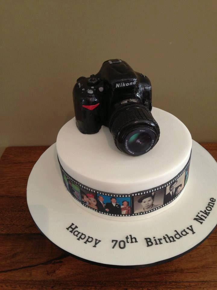 Fine Nikon Camera Cake Laura Jayson Jayson Escamilla Sara Eriksson Personalised Birthday Cards Sponlily Jamesorg