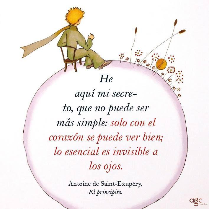 Le Petit Prince El Principito El Principito Frases El