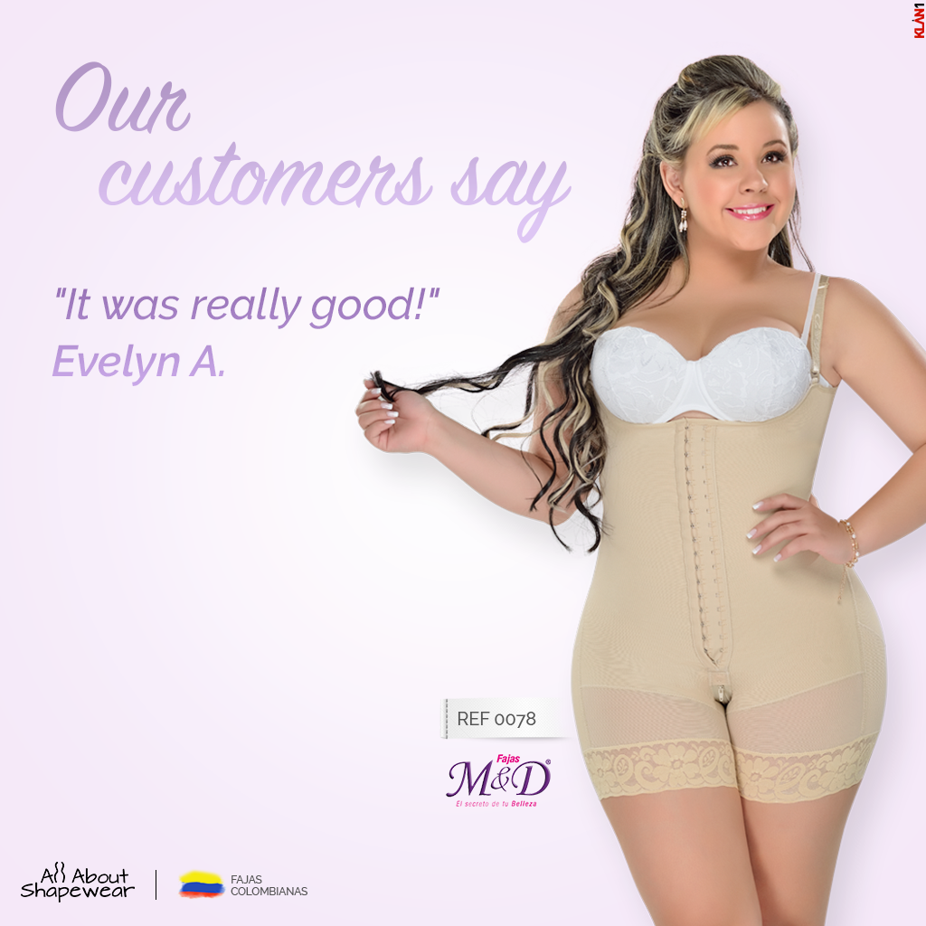 542a21702c7ee FULL BODY SHAPER STYLE POST SURGICAL - POST PARTUM SHAPEWEAR fajas  colombianas M D 0078