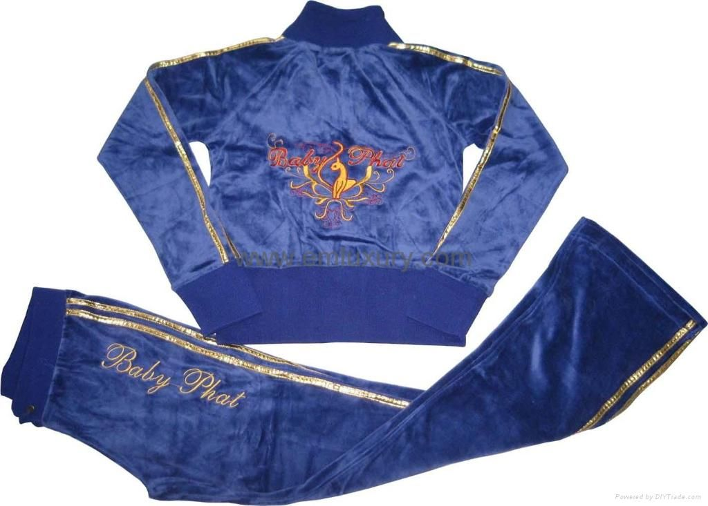 899ce80b Bring it on! Baby Phat gold and blue tracksuit | baby phat in 2019 ...