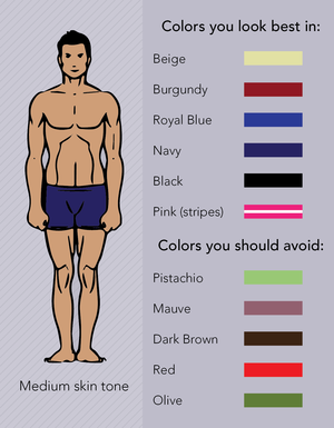 7deb67c7780b3 Matching Color To Your Skin Tone — Johnny   Pete