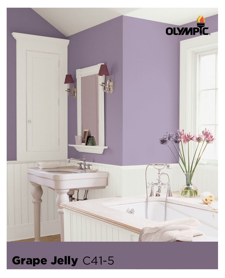 Explore Colors Bathroom purple, Paint color schemes and Neutral - beiges bad