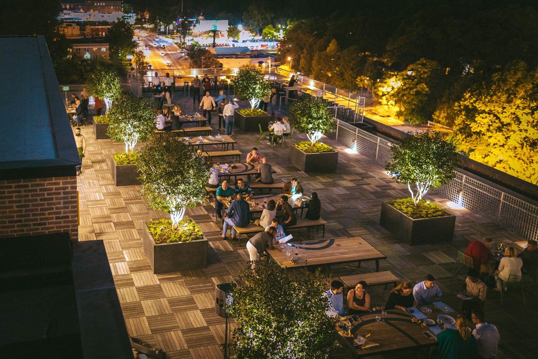 Nine Mile Station Beer Garden Ponce City Market Thing