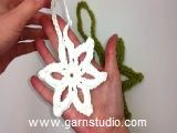"""DROPS Extra 0-790 - Crochet DROPS star for Christmas in """"Karisma"""". - Free pattern by DROPS Design"""