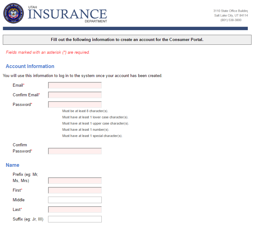 Utah Insurance Commissioner Complaint Utah Complaints Insurance