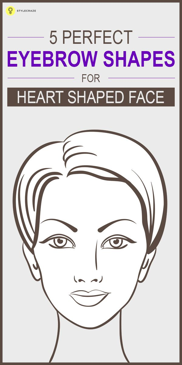 5 Perfect Eyebrow Shapes For Diamond Shaped Face Eye Makeup Tips