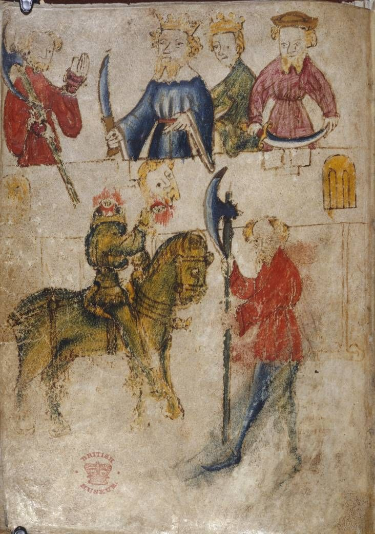An analysis of sir gawain and the green knight as the most intact of the middle english romances