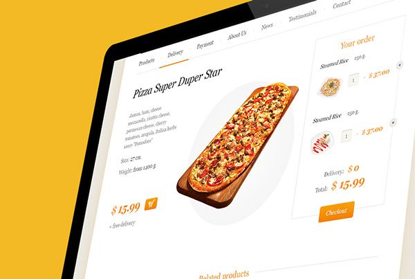Delivery Template on Behance