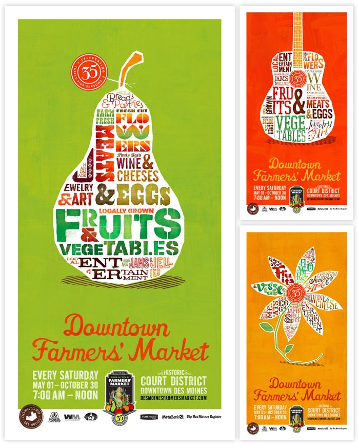 Red Dot Advertising + Design | Downtown Farmers' Market ...