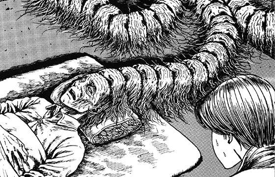 Juxtapoz Magazine - Junji Ito's Eerie Illustrations