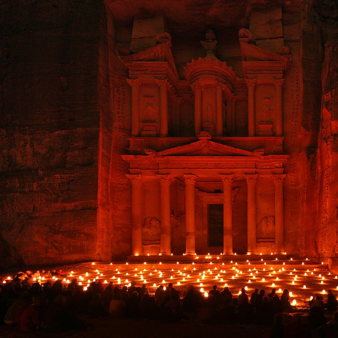 Petra - Jordan (at night)