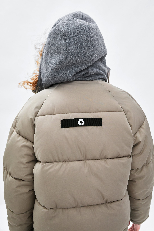 Image 7 De Veste Rembourree Recycled Capsule De Zara Jackets Puffer Jackets Puffer [ 2880 x 1920 Pixel ]