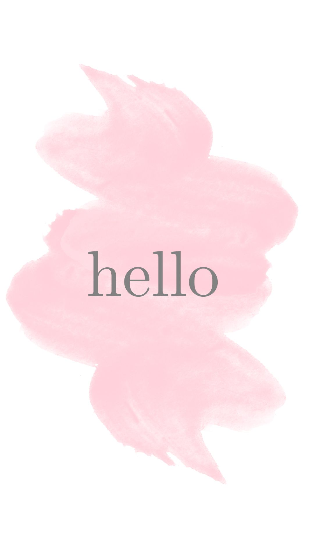 iphone-6-wallpaper-hello-watercolor 1,080×1,920 pixels | my