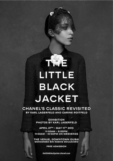 CHANEL The Little Black Jacket photo exhibition comes to Dubai  - from April 27th via The Culturist - Home
