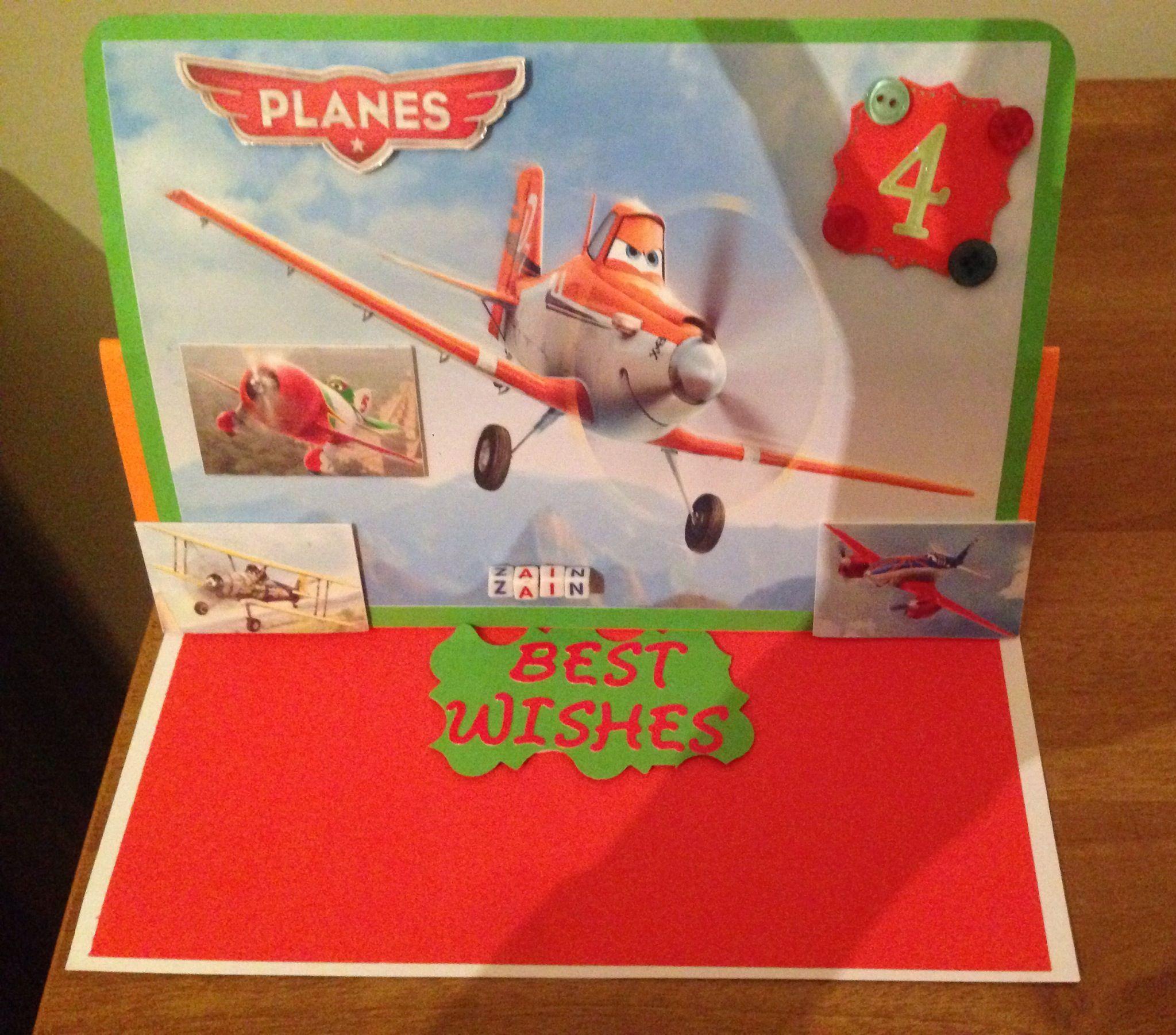 Disney planes birthday card disney planes birthday
