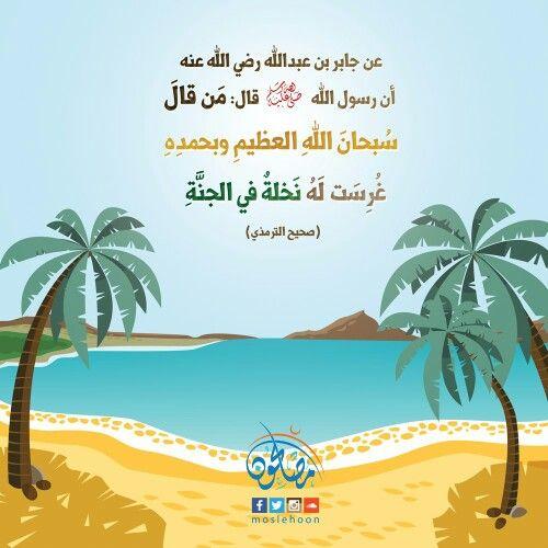 سبحان الله العظيم وبحمده Summer Wallpaper Wallpaper Backgrounds Tropical
