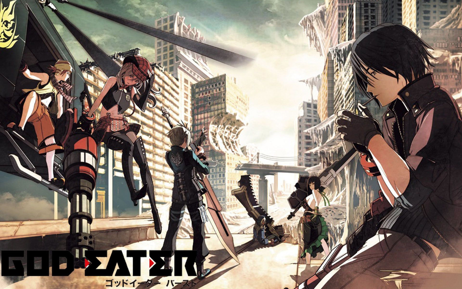God Eater Wallpaper HD