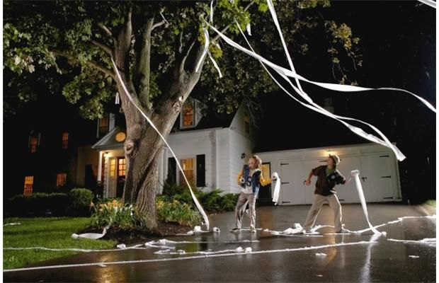 The Trick Toilet Papering A House House Pranks
