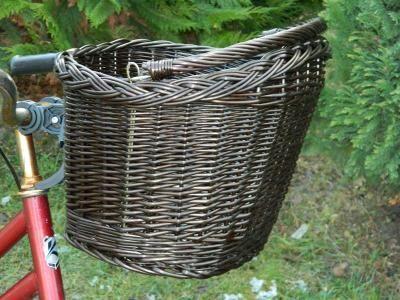 Koszyk Rowerowy Z Wikliny Przedni Click Klik Wenge 5185063738 Oficjalne Archiwum Allegro Wicker Wicker Laundry Basket Wicker Baskets