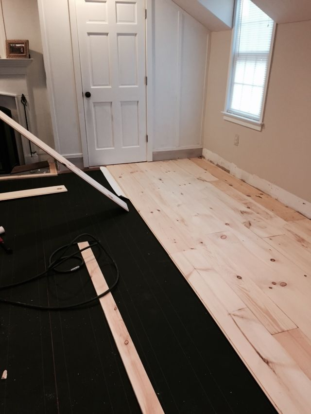How To Install Refinish Unfinished Wide Pine Floors Review 4 Yrs Later Lehman Lane Pine Floors Wide Plank Hardwood Floors Flooring