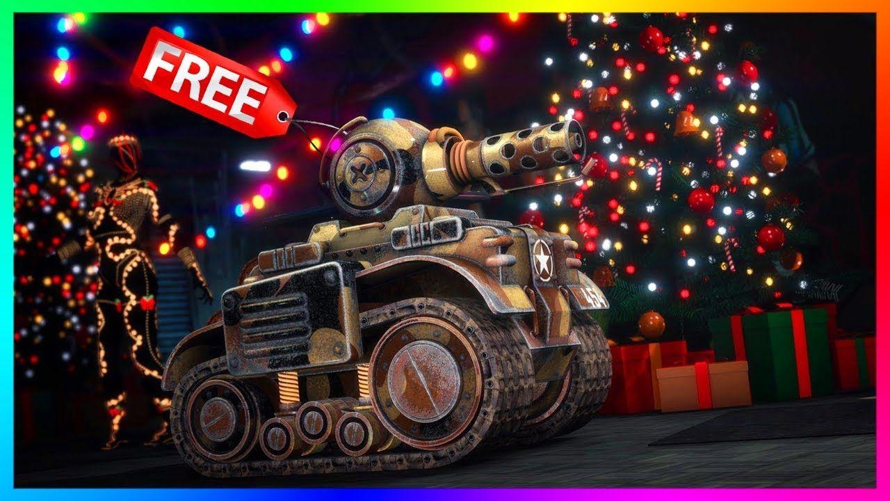 GTA 5 Online Festive Surprise 2019 DLC Update CHRISTMAS