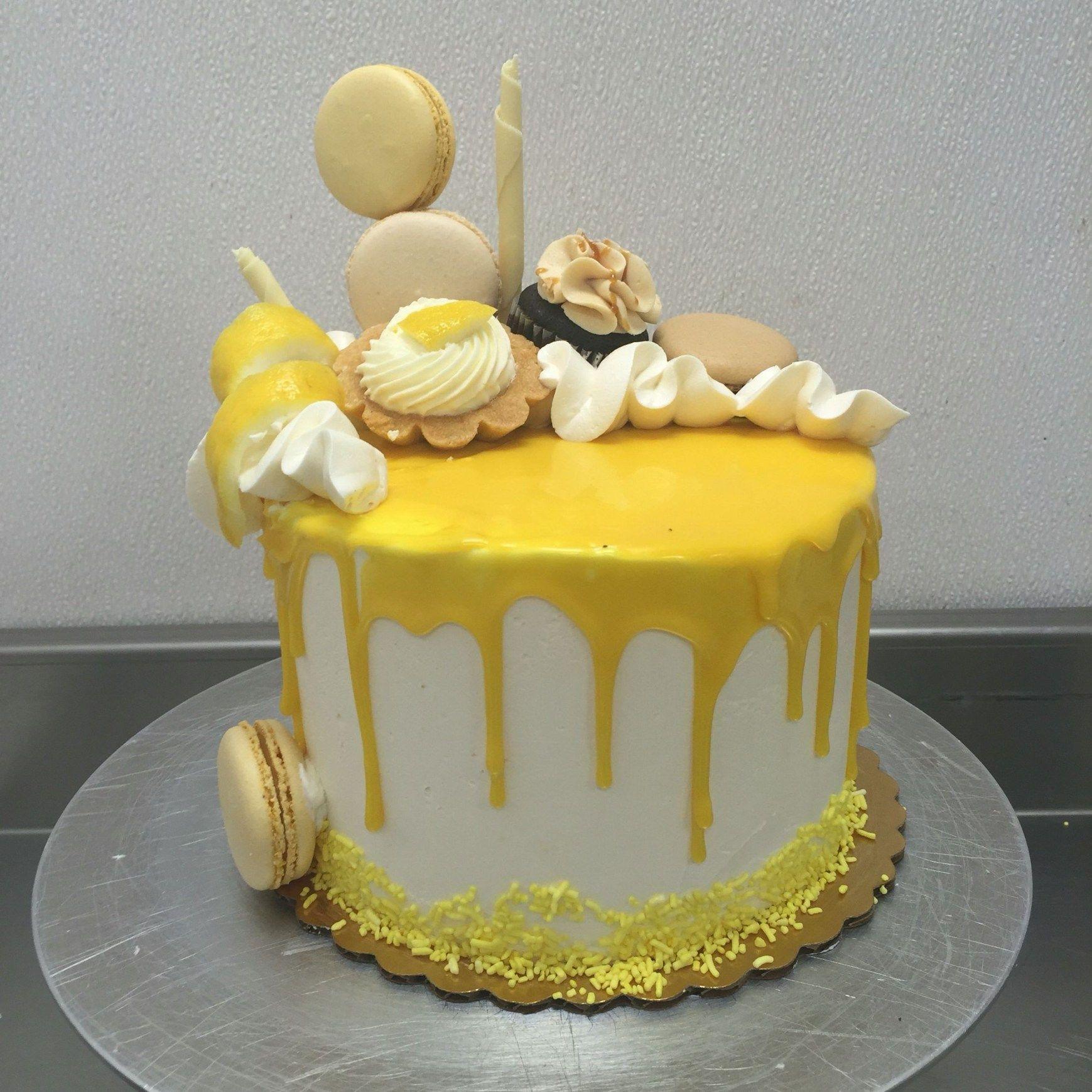 32 Amazing Picture Of Lemon Birthday Cake Lemon Birthday Cakes