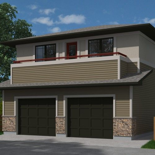 Craftsman Athabasca 604 House Plans Garage House Plans Garage Apartment Plans