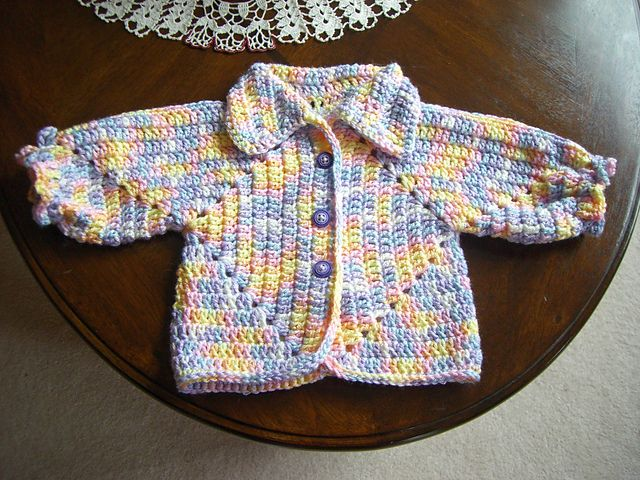 636473787774 Ravelry  Sue s No holes Hexagon Baby Sweater pattern by Cozy s ...