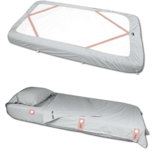 Kuviez Bed Sheets For Beds That Are Pushed Up Against The Wall Or Bunks