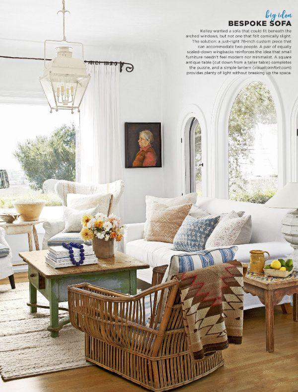 A Darling Santa Barbara Cottage Small Room Design